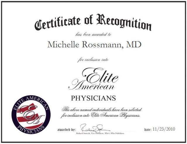 Dr. Michelle Rossmann