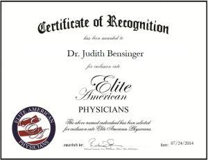 Dr. Judith Bensinger