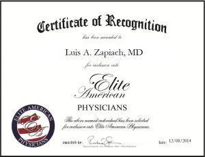 Luis A. Zapiach, MD