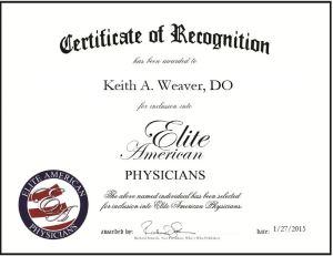 Keith A. Weaver, DO