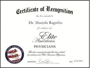 Dr. Manjula Raguthu