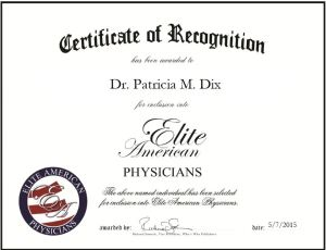 Dr. Patricia M. Dix